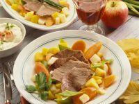 Tellerfleisch mit Suppengemüse
