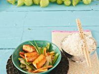 Thai-Curry mit Lachs