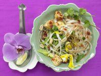 Thailändische Reisnudelpfanne