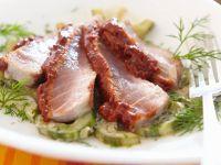 Thunfisch mit Gurke