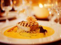 Thunfisch mit Safransauce