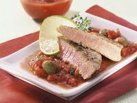 Thunfisch mit Tomaten