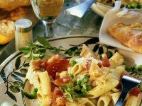 Thunfisch-Pastasalat mit Tomaten