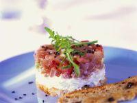 Thunfisch-Tomaten-Tatar