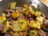 Tiroler Gröstl mit Rindfleisch