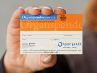 Organspende Organspendeausweis