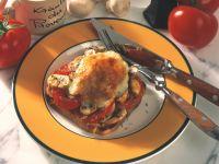 Tomaten-Champignon-Toast