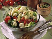 Tomaten-Fenchel-Salat mit Pesto
