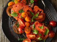 Tomaten-Minzsalat