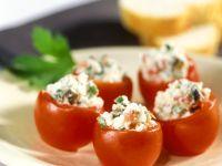 Tomaten mit Ricottafüllung
