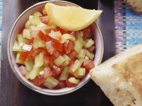 Tomaten-Paprika-Salat