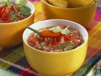 Tomatensalsa mit Tortilla-Chips