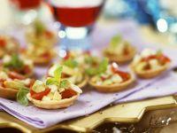 Tortelett-Gemüse-Häppchen