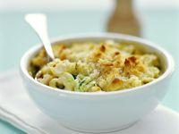 Tortellini-Gratin mit Zucchini