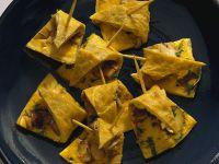 Tortilla mit Champignons