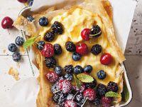 Vanillecreme-Tarte mit Beeren