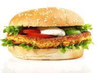Burger mit vegetarischem Pattie