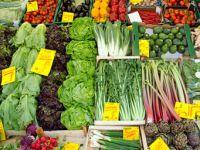 viel Gemüse und Obst