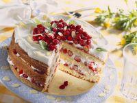 Walderdbeer-Sahne-Torte