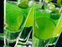 Waldmeister-Champagner