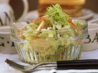 Waldorfsalat mit Mango-Chutney