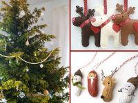 Weihnachtsbaum und Deko