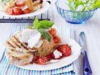 Weißbrot mit Paprika-Kichererbsenmus
