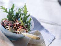 Wildreis-Salat mit Radieschen und Ingwer