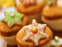 Zimt-Muffins mit Zuckerguss