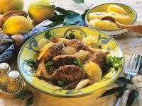 Zitronen-Fleischklößchen