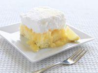 Zitronenkuchen mit Baiser