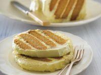 Zitronenkuchen mit Ingwer