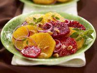 Zitrus-Zwiebel-Salat
