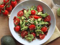 Sommerlicher Zoodle-Salat