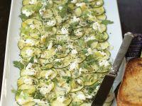 Zucchini-Ricotta-Carpaccio