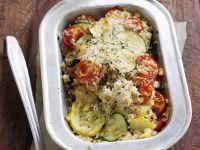 Zucchini-Tomaten-Gratin