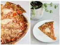 Zucchinipizza – low carb