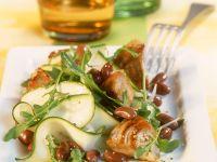 Zucchinisalat mit Bohnen und Thunfisch