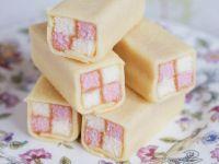 Zweifarbiger Kuchen nach englischer Art