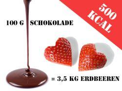 Schokoduell - Schokolade vs. Lebensmittel