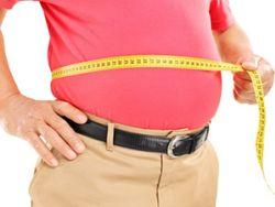 Bei Übergewicht sollte man versuchen, sein Gewicht zu reduzieren.