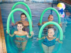 Aqua-Fitness ist für jeden geeignet. © Robert Kneschke