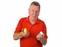 Das Cholesterinrisiko steigt im Alter © Teamarbeit