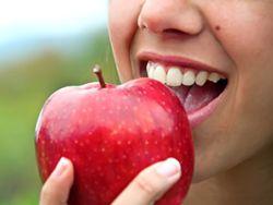 Anti-Aging-Effelt: Der Apfel hält jung.