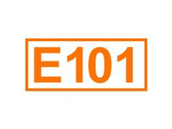 E 101 ein Farbstoff