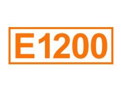 E 1200 ein Lebensmittelfeuchthaltemittel