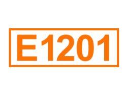 E 1201 ein Lebensmittelträgerstoff