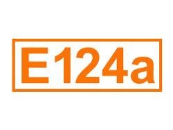 E 124 a ein Farbstoff