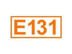 E 131 ein Farbstoff