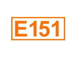 E 151 ein Farbstoff